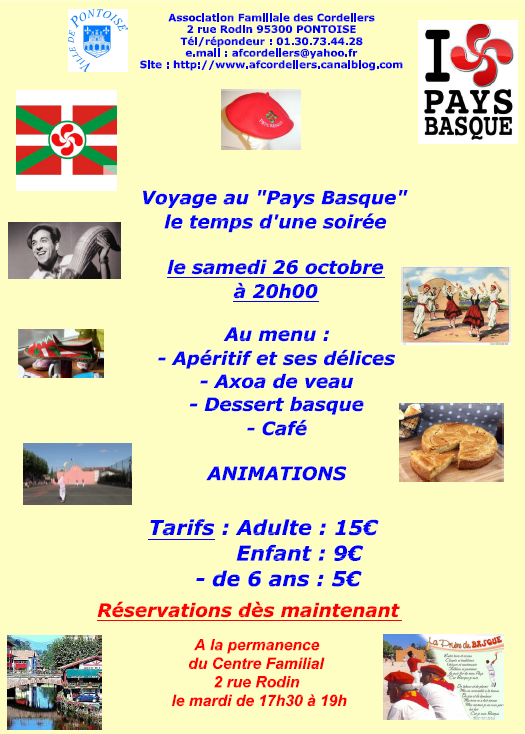 Soiree pays basque