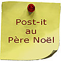 Post-it au père noël