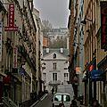 Instantané rue André Antoine.