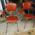 Chaises skai lot de 2 prix: 50.00€