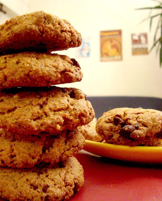 Cookies noisette sans beurre