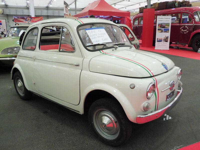 FIAT 500D Trasformabile 1964 Strasbourg (1)