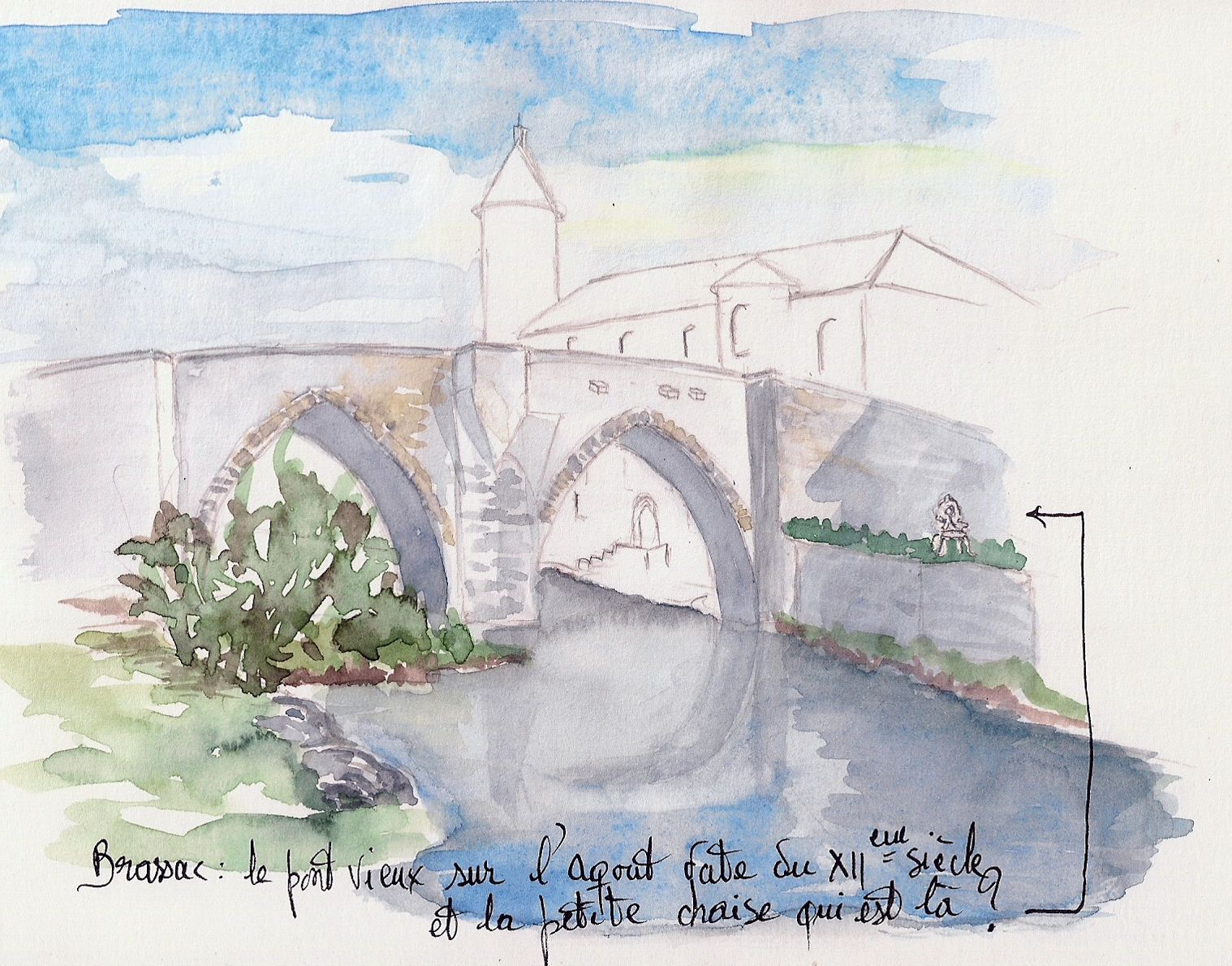 Brassac -Le Pont Vieux