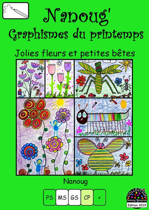 35-COUVERTURE graphismes PRINTEMPS