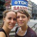 Amanda& Mathilde Picadilly Circus