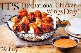 International Chicken Wing Day | Paddlers Restaurant & Bar