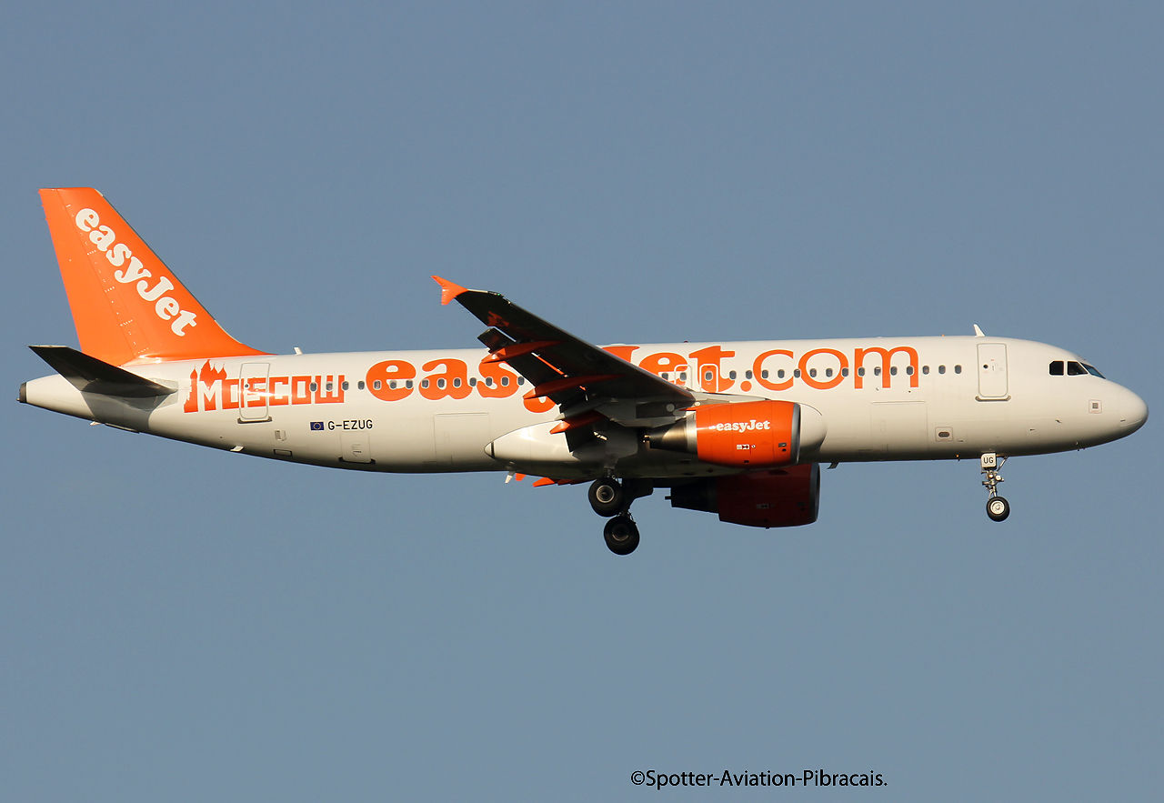 EasyJet Airlines (MOSCOU)