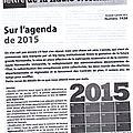 2015, l'année des tribulations normandes...