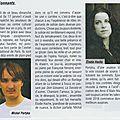 Le travailleur catalan, article sur le concert du 17 janvier à collioure