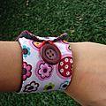 bracelet jean fleur