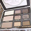too faced natural eyes 8