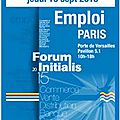 Initialis organise un salon de recrutement