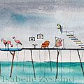 Flamingo's house w 16x45 0414
