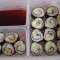 Aujourd'hui, c'est sushis !