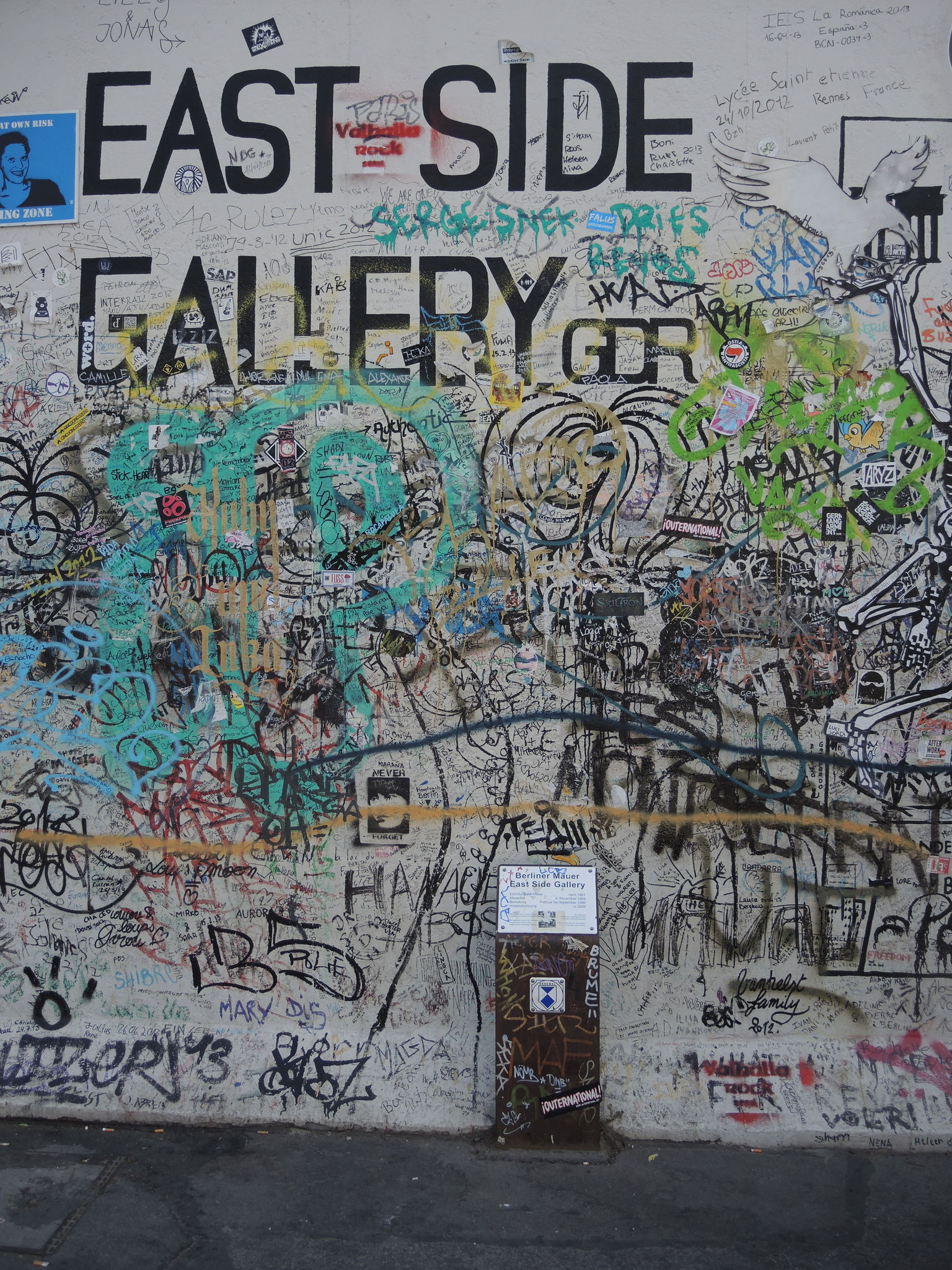 BERLIN, East Side Gallery (Allemagne)