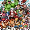 Fanart Marvel vs Capcom 3