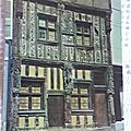 Joigny - maison de bois du XVI siècle