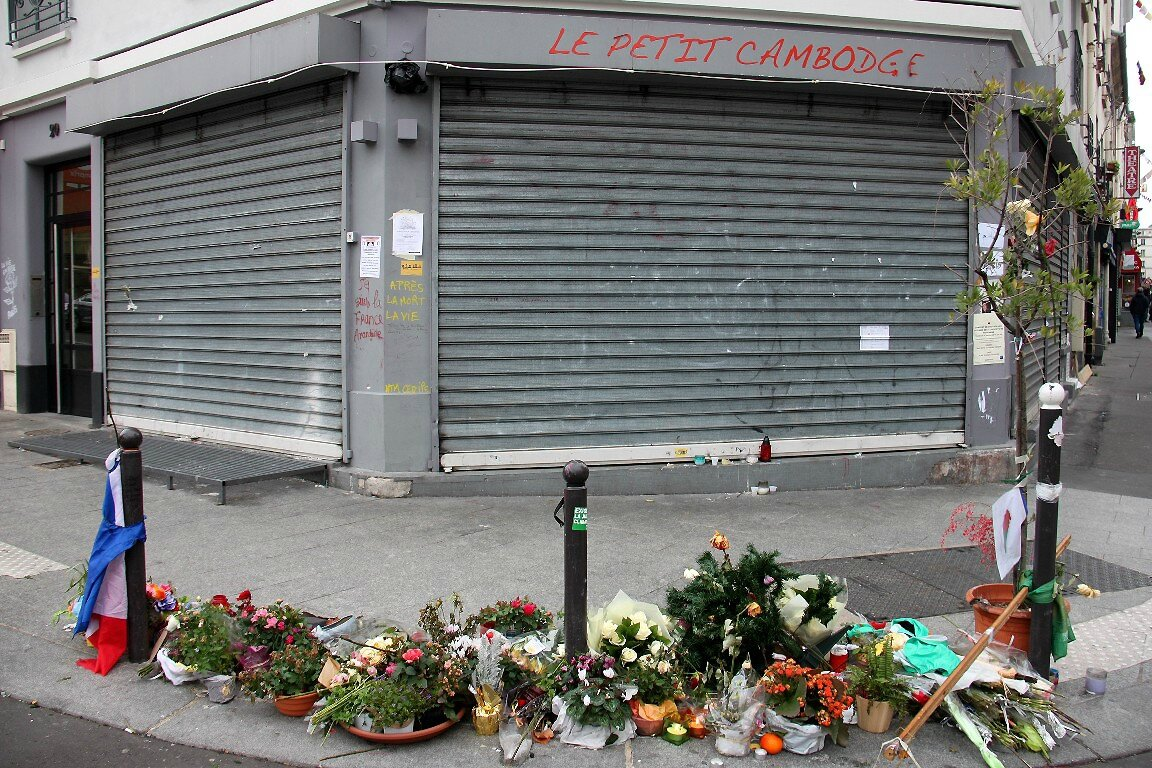 Hommage attentats 13-11-15 (le petit Cambodge)_7609