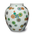 A rare doucai ovoid jar, China, Yongzheng-Qianlong period (1723-1795)