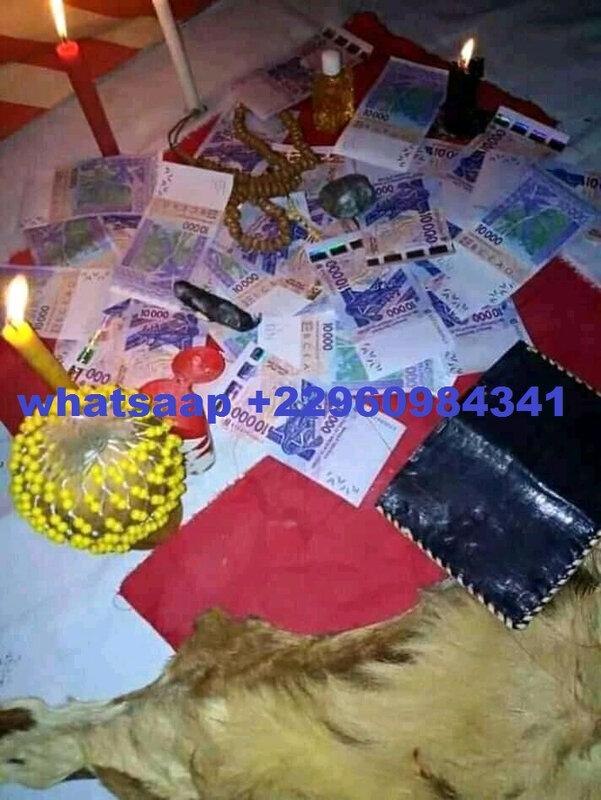 portfeuille magique du maitre dah kpingla qui donne la richesse