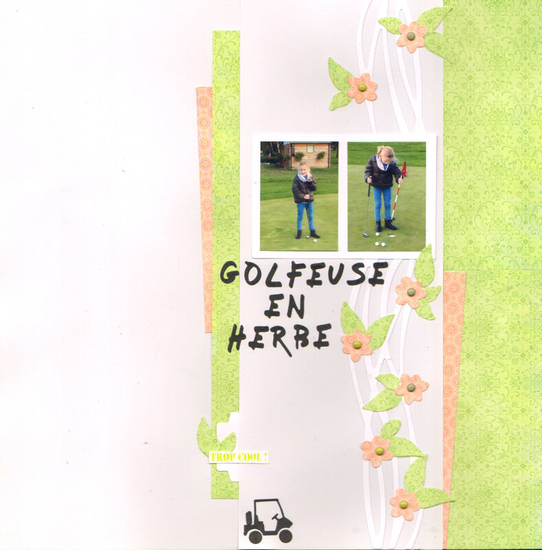 golfeuse en herbe