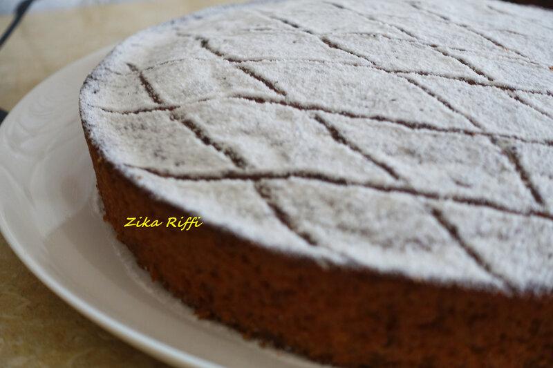 Gâteau banane café