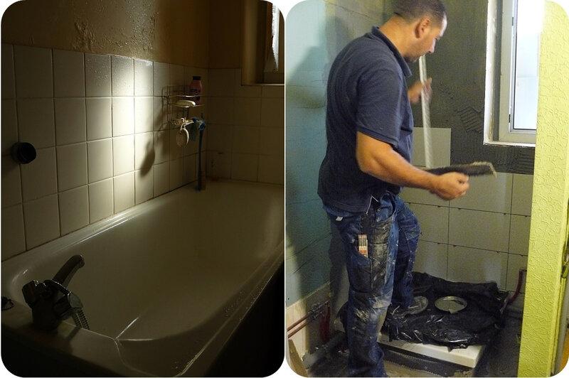 Quartier Drouot - remplacement baignoire par douche
