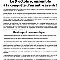 Le 9 octobre, ensemble
