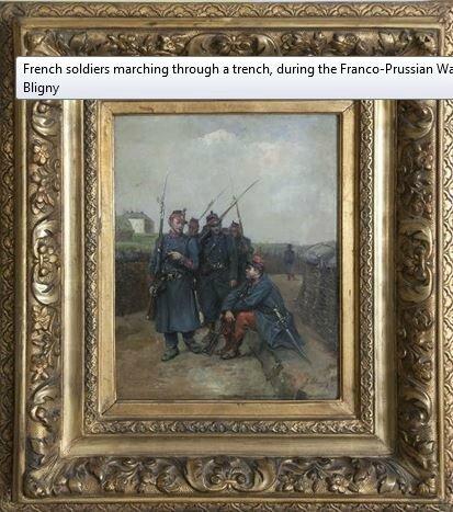 Bligny (Albert), soldats français pendant la guerre de 1870