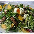 Salade gourmande printanière