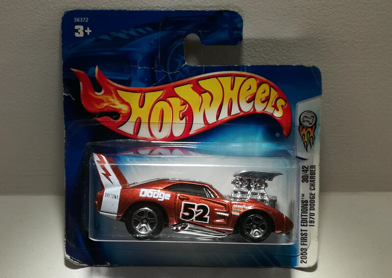 Dodge Charger Daytona Tooned de 1970 (Hotwheels)