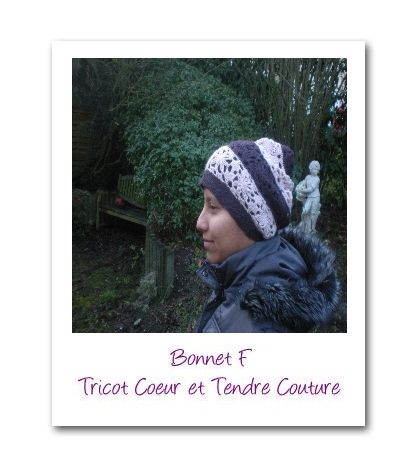 Bonnet f profil- Motif book vol 4