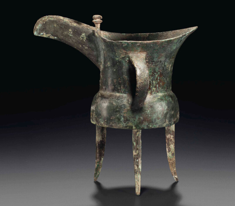 2014_NYR_02830_2033_000(a_small_bronze_ritual_tripod_wine_vessel_jue_early_shang_dynasty_erlig)