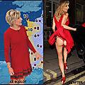 Evelyne dhéliat, une perruque et un coup de vent, c'est plus la même femme!