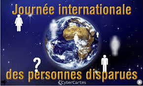 """Résultat de recherche d'images pour """"journée internationale des personnes disparues"""""""