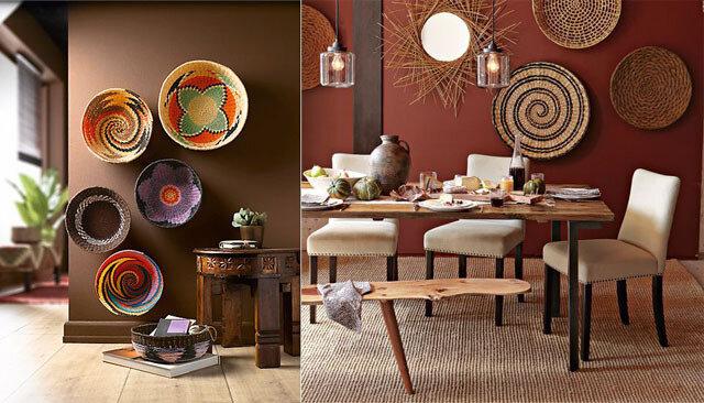decoration-mur-paniers africain