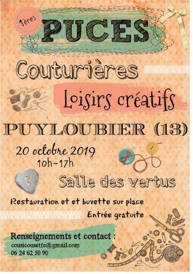 puces couturieres pyloubier