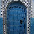 porte .... Bleue !