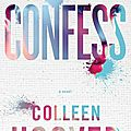[cover reveal] confess de colleen hoover