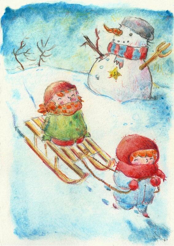 Scenette hivernale 2
