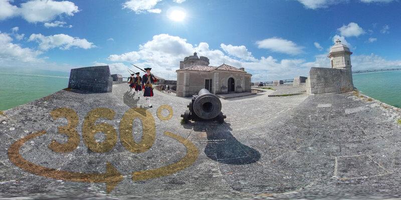 Canon Fort Louvois Reconstitution des Régiments du Passé