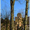 Un église forteresse en rouergue