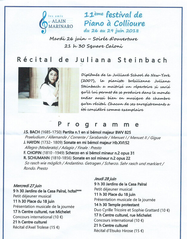 Annonce programme
