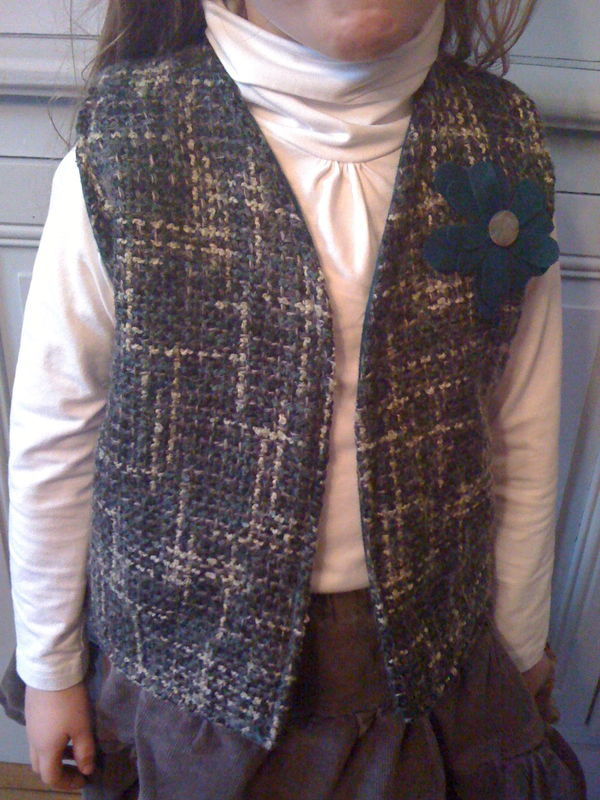 gilet chic taille 6 ans