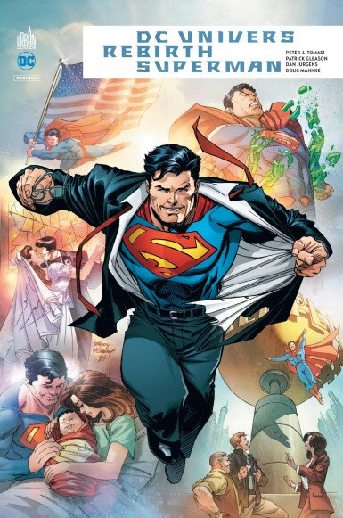 dc univers rebirth superman reborn
