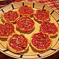 Tartelettes aux pralines