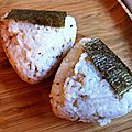 Recette d'onigiri au sésame et à la sardine