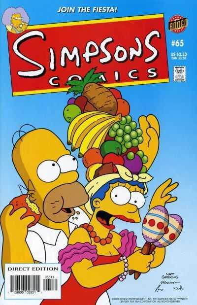 bongo simpsons comics 65