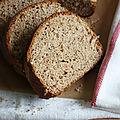 Brioche à la farine de châtaigne et à l