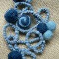 spiarle bleue et laine